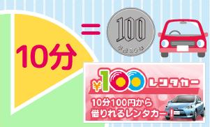 多田自動車工業 100円レンタカー 小矢部市